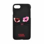 Karl Lagerfeld Etui hard do iPhone 7 KLHCP7CL2BK czarne - towar w magazynie, natychmiastowa wysyłka FV 23%, odbiór osobisty 0 zł