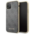 Guess GUHCN58G4GG iPhone 11 Pro grey hard case 4G Collection - towar w magazynie, natychmiastowa wysyłka FV 23%, odbiór osobisty 0 zł