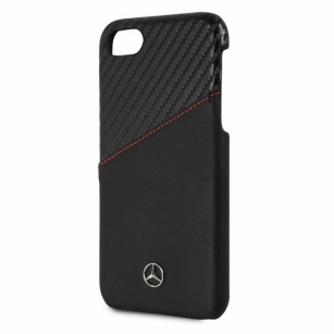 Mercedes MEHCP7CSCALBK iPhone 7/8 hard case czarny/ black  - towar w magazynie, natychmiastowa wysyłka FV 23%, odbiór osobisty 0 zł