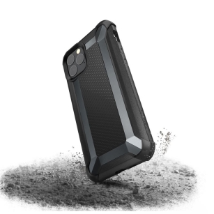 X-Doria Defense Tactical Pancerne etui iPhone 11 Pro Drop test 3m Black 486583 - towar w magazynie, natychmiastowa wysyłka FV 23%, odbiór osobisty 0 zł