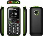 MAXCOM MM560BB GREEN - idealny dla seniora