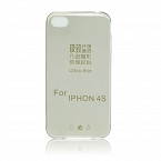 Futerał Back Case Ultra Slim 0,3mm - APPLE iPhone 4/4S czarny