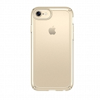 Speck Presidio Show - Etui iPhone 7 / iPhone 6 / 6s (Clear/Pale Yellow Gold) 88203-6243