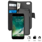 PURO WALLET DETACHABLE - ETUI 2W1 IPHONE 7 PLUS CZARNY  (IPC755BOOKC3BLK)