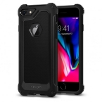Etui Spigen Rugged Armor Extra iPhone 7/8 czarny/black 042CS21491 - towar w magazynie, natychmiastowa wysyłka FV 23%, odbiór osobisty 0 zł