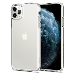 Spigen Liquid Crystal iPhone 11 Pro Crystal Clear 077CS27227 - towar w magazynie, natychmiastowa wysyłka FV 23%, odbiór osobisty 0 zł
