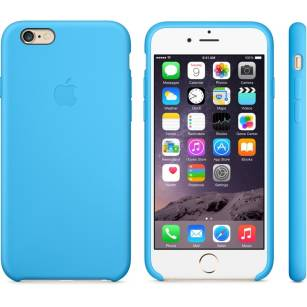 ETUI IPHONE 6 PLUS SILICONE CASE BLUE MGRH2ZM/A