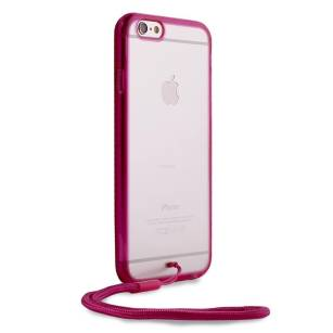 ETUI PURO Clear Cover Easy Photo IPHONE 6/6s PINK