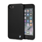 Etui hardcase BMW BMHCI8PEBOBK iPhone 7/8 czarny/black perforated - towar w magazynie, natychmiastowa wysyłka FV 23%, odbiór osobisty 0 zł