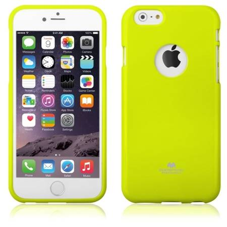 Etui JELLY CASE iPhone 6/6s Limonkowy