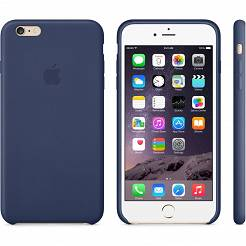ETUI IPHONE 6 PLUS LEATHER CASE MIDNIGHT BLUE MGQV2ZM/A