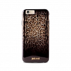 JUST CAVALLI LEOPARD DOUBLE COVER - etui iPhone 6, 6S (brązowy)  JCIPC647LEOPARD2