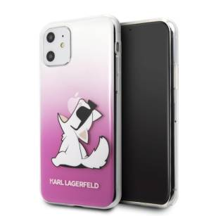 Karl Lagerfeld Choupette Fun hardcase iPhone 11  różowy / pink