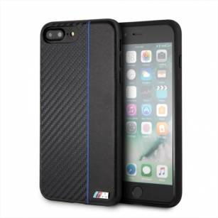 Etui hardcase BMW BMHCI8LCAPNBK iPhone 7 /8 Plus navy/niebieski Carbon  - towar w magazynie, natychmiastowa wysyłka FV 23%, odbiór osobisty 0 zł