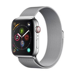 Devia pasek Elegant Milanese do Apple Watch 44mm / 42mm silver