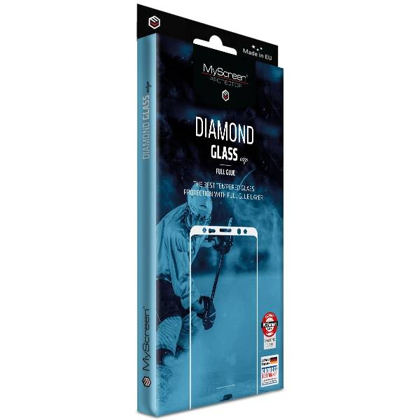 MS Diamond Edge FG iPhone 11 Pro/XS/X czarny/black Full Glue - towar w magazynie, natychmiastowa wysyłka FV 23%, odbiór osobisty 0 zł
